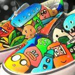 Cara Melukis Sepatu Sendiri Agar Lebih Menarik