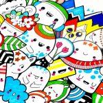 Cara Membuat Doodle Art yang Mudah dan Simple